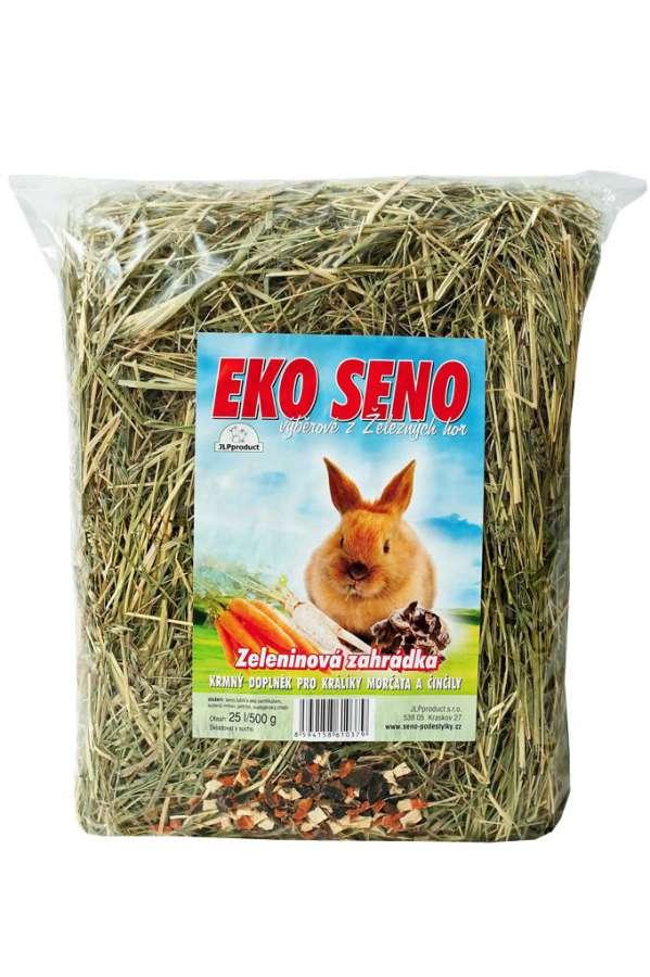 Ekologické seno zeleninová zahrádka 25l/500g JLPproduct