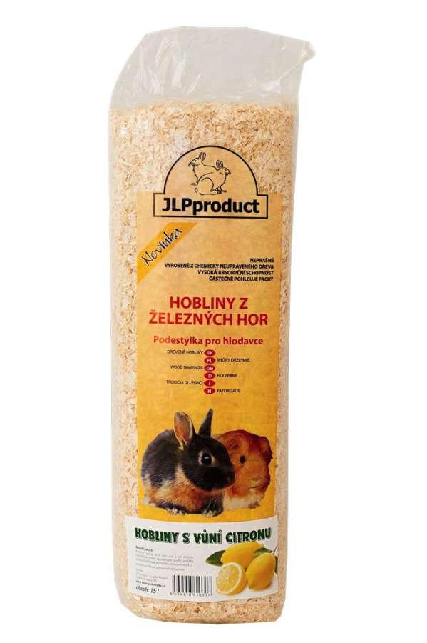 Hoblinová podestýlka 15l s citronem JLPproduct