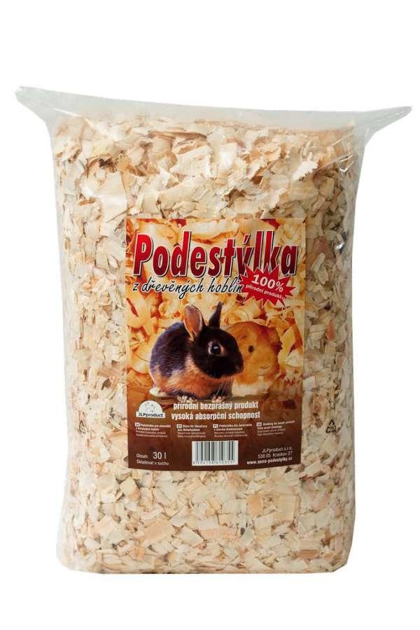 Hobliny hrubé - balení 30 l JLPproduct