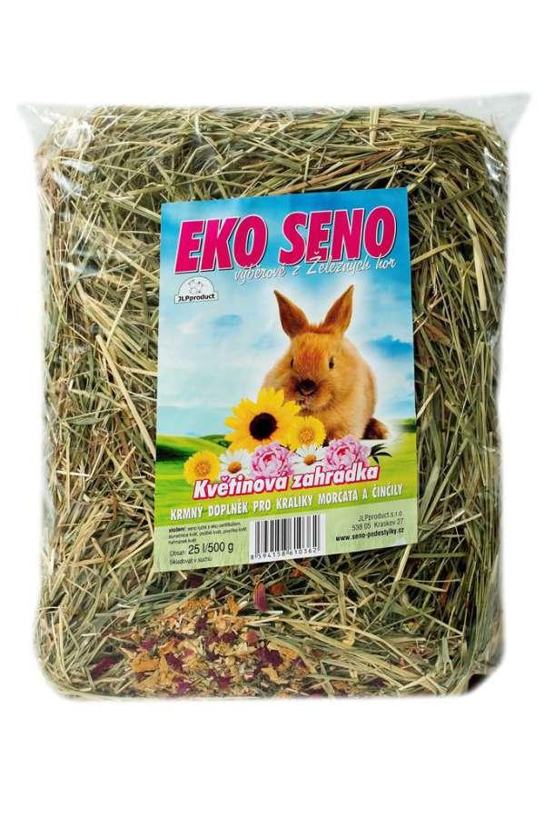 Ekologické seno květinová zahrádka 25l/500g JLPproduct