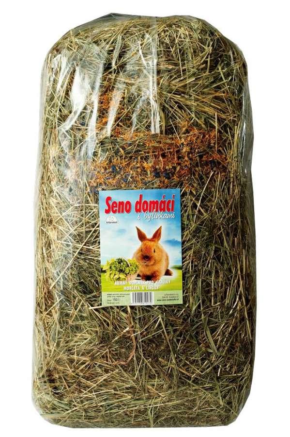Seno domácí s bylinkami 150l JLPproduct s.r.o.